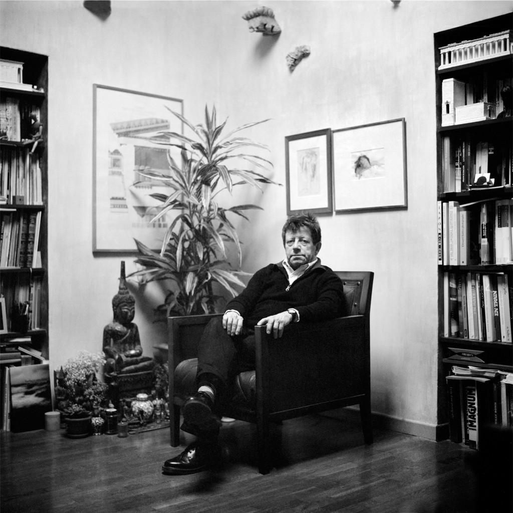 Hervé le Goff.  Journaliste, critique d'art, essayiste français.
